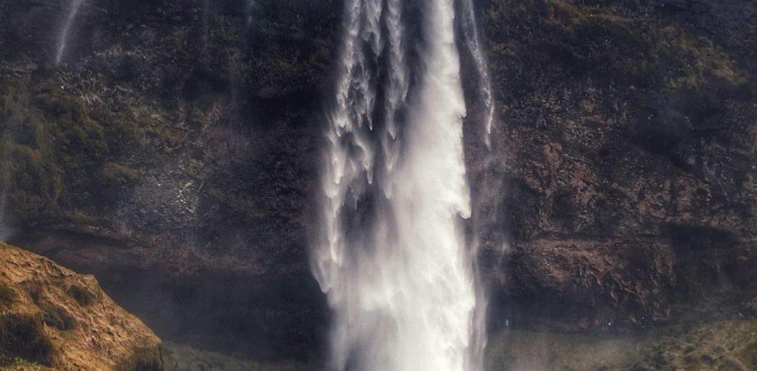 Barnafossar Waterfall Iceland Travel